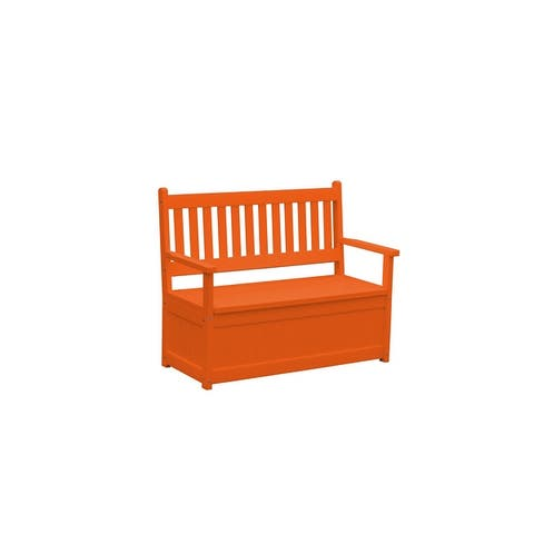 Poly Traditional English Storage Bench