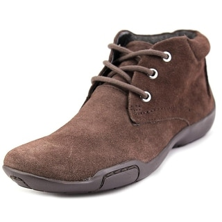 Ros Hommerson Carly Women SS Square Toe Suede Brown Bootie
