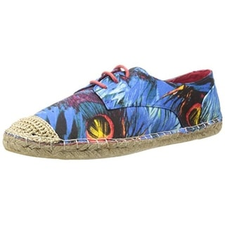 C Label Womens Adler Espadrilles Round Toe Graphic