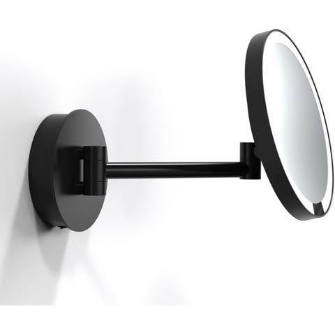 "WS Bath Collections WS 92WD WS 8-9/10"" X 8-1/2"" Wall Mounted Framed Magnifying"
