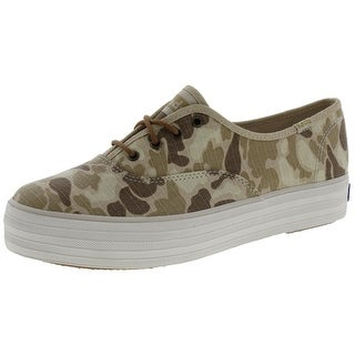 Keds Womens Fashion Sneakers Canvas Camouflage