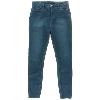 Blank NYC Womens The Jukebox Ankle Jeans Denim High Rise