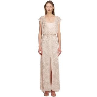 Needle & Thread Embellished Aura Cap Sleeve Maxi Dress - 8