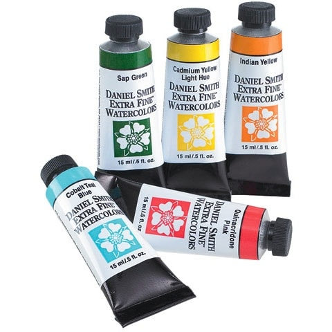 Daniel Smith - Extra-Fine Watercolor - 15ml Tube - Raw Umber