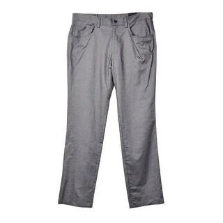 INC International Concepts Men's Brooks Five-Pocket Pants (Charcoal, 32x32) - Charcoal - 32X32