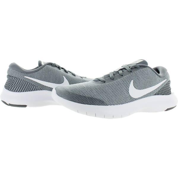 Adjuntar a Supervivencia Percepción  Nike Womens Flex Experience RN 7 Running Shoes Performance Lifestyle -  Overstock - 27876381 - Wolf Grey/White-Cool Grey - 5 Medium (B,M)