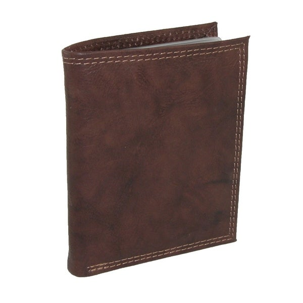 Buxton Men's Leather Credit Card Wallet - One size