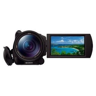 "Sony HDRCX900/B HD Video Camera with 1"" sensor and 3.5-Inch LCD (Black)"