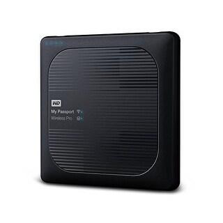 Western Wdbsmt0040bbk-Nesn 4Tb My Passport Wireless Pro Usb 3.0 External Hdd