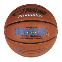 SportimeMax Junior 27-1/2 in ProRubber Basketball, Tan