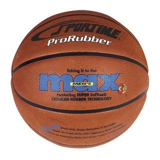 SportimeMax Women's 28-1/2 in ProRubber Basketball, Tan