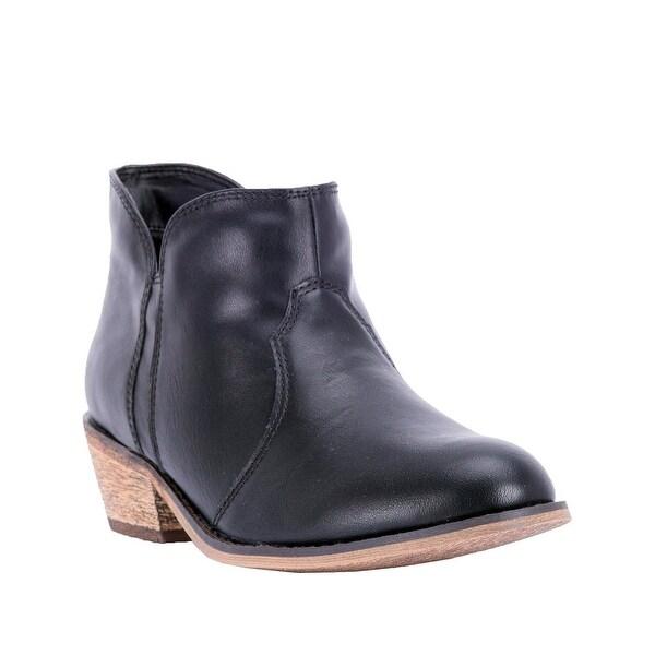 "Dingo Western Boots Womens Socorro 4"" Round Toe Composite Black"
