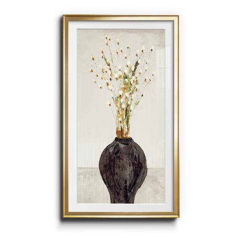 Flowers- Premium Gallery Wrapped Print - Ready to Hang