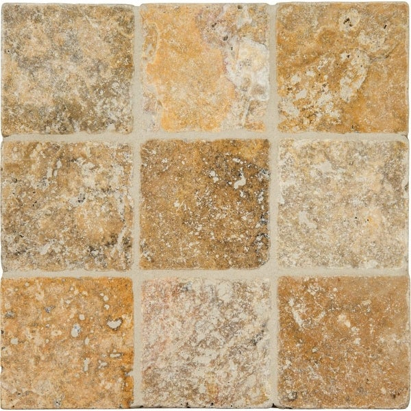 Ms International Inc Lpavtpor66t Tuscany Porcini 6 X Square Floor Tile