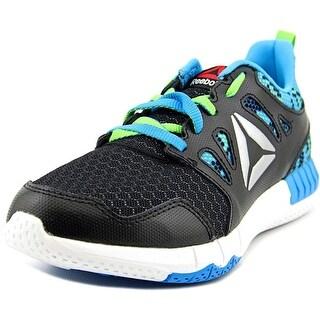 Reebok Zprint 3D Round Toe Synthetic Running Shoe