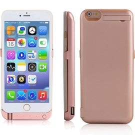 Indigi® 10000mAh PowerCase ROSE GOLD Rechargeable Battery Case iPhone 6 Plus/6S Plus