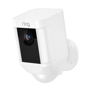 RING 5001327 Wi-Fi Security Camera - White