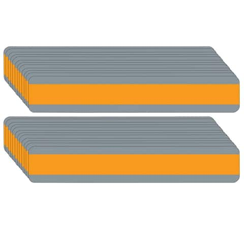"Double Wide Sentence Strip Reading Guide, 1.25"" x 7.25"", Orange, Pack of 24 - One Size"