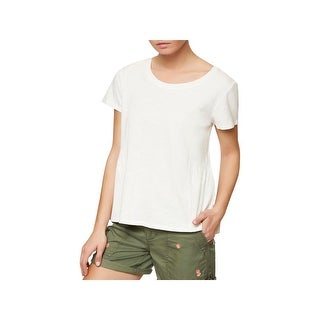 Sanctuary Womens T-Shirt Slub Short Sleeves (2 options available)