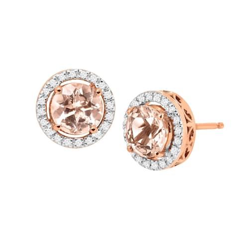 5fb8cdba5 Morganite, Gemstone Earrings | Find Great Jewelry Deals Shopping at ...