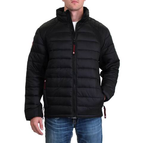 Canada Weather Gear Mens Soft Shell Jacket Waterproof Puffer