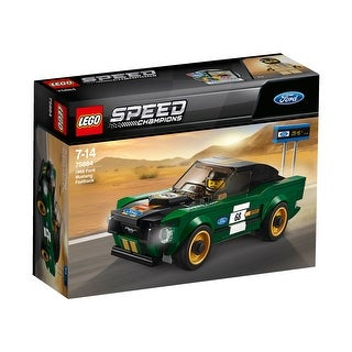 LEGO Speed Champions 1968 Ford Mustang Fastback 183-Piece Construction Set - Multi