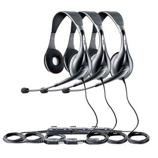 """Jabra Voice 150 Duo (3-Pack) UC Voice 150 Duo Headset"""