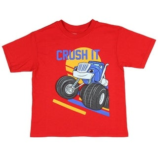 Nickelodeon Little Boys' Blaze and The Monster Machines Crusher T-Shirt