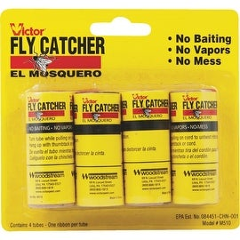 Victor 4Pk Victor Fly Ribbon