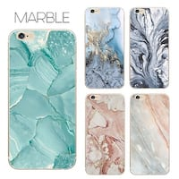 Unique Marble Design Anti-Scratch & Fingerprint Shock Proof Thin TPU Case iPhone 6/7 (18 Colors)