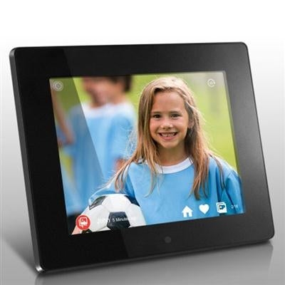 Shop Aluratek Awdmpf208f 8 Wifi Digital Photo Frame W Touchscreen