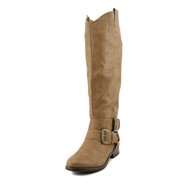 Madeline Girl Booya Women Round Toe Synthetic Knee High Boot