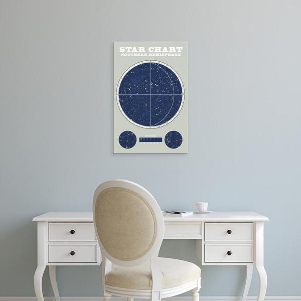Easy Art Prints Sue Schlabach's 'Southern Star Chart' Premium Canvas Art