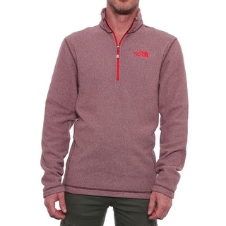 The North Face 100 Novelty Glacier Fleece Softshell Sequoia Red