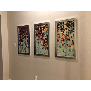 "Mark Lawrence ""Psalm 19 7 Max"" Framed Plexiglass Wall Art Set of 3"