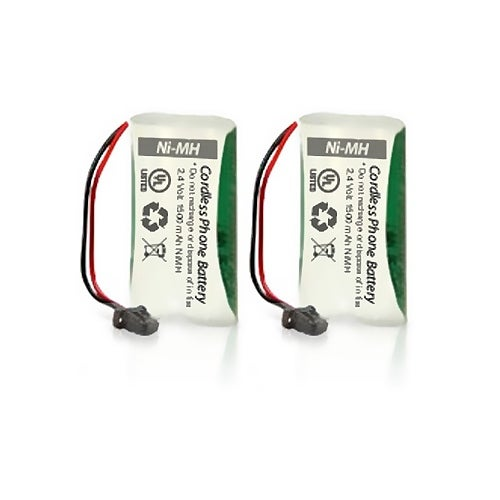 Uniden BT-1008 Battery Replacement for Dect 6 0 2000 Series and DCX200 (2 Pack)