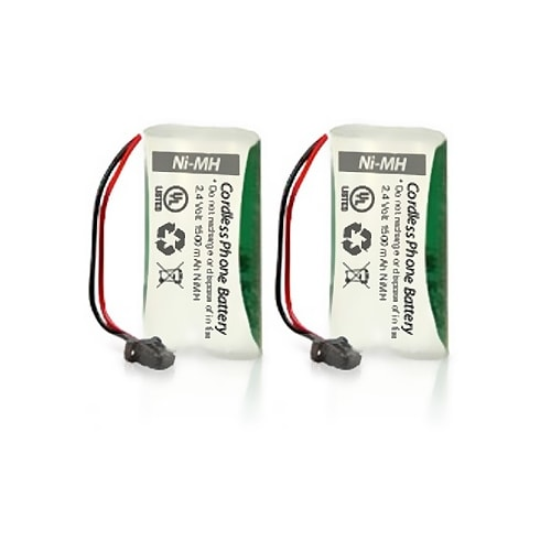 Replacement Uniden BT1008 Battery for D1680-3T / D2997-2 / DECT2080-5 Phone Models (2 Pack)