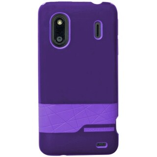 Body Glove Diamond Snap-on Case for HTC EVO Design 4G, HERO S  - Purple