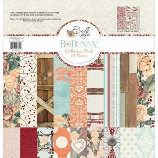 Bo Bunny 20116624 12 x 12 in. Bella Rosa Collection Pack