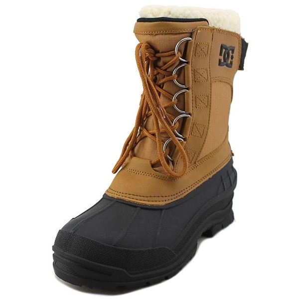 DC Shoes Peary SPT Men Round Toe Leather Tan Snow Boot