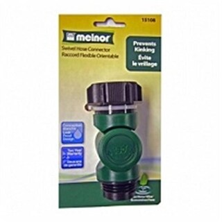 Melnor 183653 Green Thumb Swivel Hose Connector