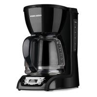Black & Decker DLX1050B Programmable Coffeemaker with Glass Carafe, 12-Cup