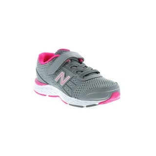 Kids New Balance Girls KA680SSY Leather Low Top Lace Up Running Sneaker