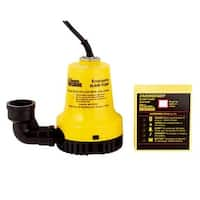 Glentronics Emergency Sump Pump BWE Unit: EACH