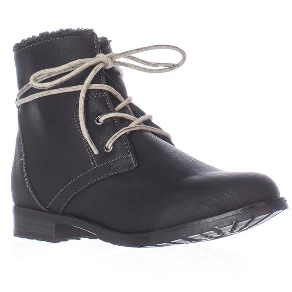 Sporto Womens Jillian Closed Toe Ankle Fashion Boots