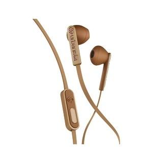 Urbanista San Francisco Ergonomic Earphones with Remote and Mic, Latte Machiatto Brown