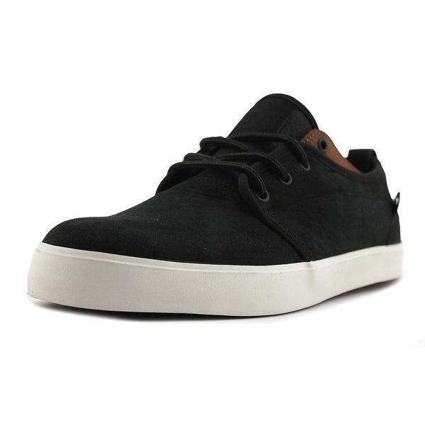 DC Shoes STUDIO 2 LE Men Round Toe Leather Black Sneakers