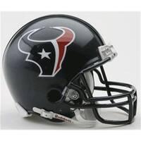 Creative Sports  Houston Texans Riddell Mini Football Helmet