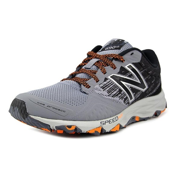 New Balance MT690 Men Round Toe Canvas Gray Running Shoe