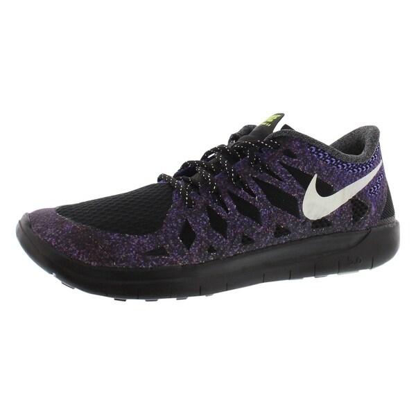 4694d2ad27681 Shop Nike Free 5.0 Glow Running Gradeschool Girl s Shoes - 4 Big Kid ...